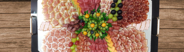 Schinken-Salami-Platte